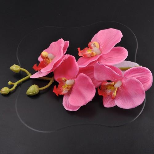 Orchid es sur tige fleurs artificielles d co mariage un jour sp cial - Deco mariage orchidee ...