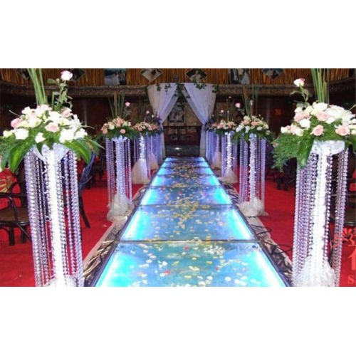 Guirlande diamants transparent d co mariage un jour sp cial for Centre de table cinema