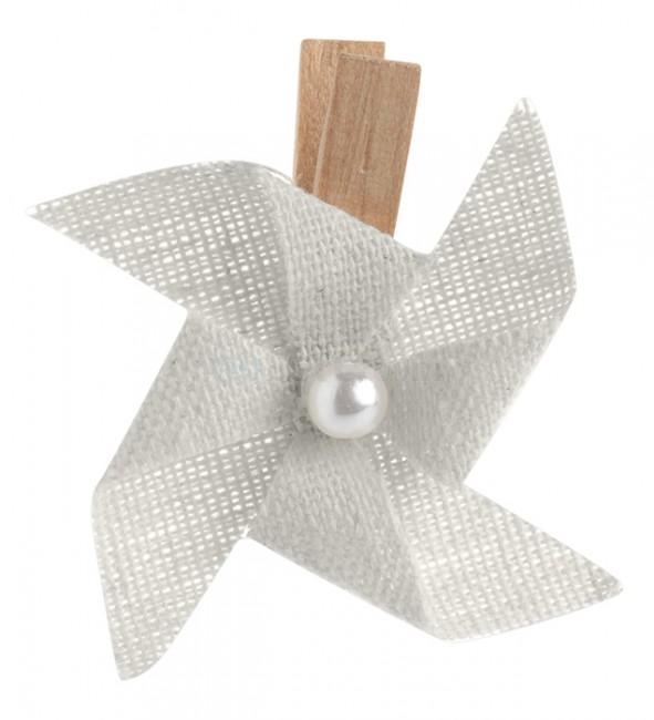 marque place mariage pince moulin vent gris pas cher un jour sp cial. Black Bedroom Furniture Sets. Home Design Ideas