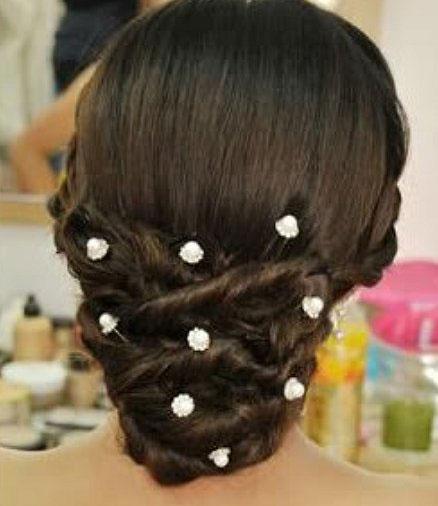 Accessoires de Mariage Bijoux de Cheveux Pic,chignon Cristal  Perles
