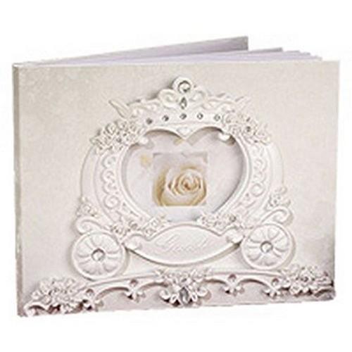 livre d 39 or mariage cendrillon carrosse de princesse conte de f e th me princesse un jour. Black Bedroom Furniture Sets. Home Design Ideas