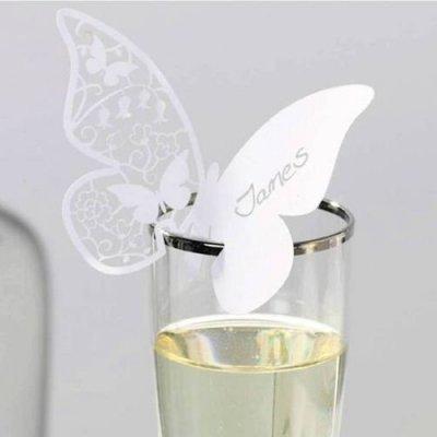 Marque place mariage par un jour sp cial accessoires d corations de m - Mariage marque place ...