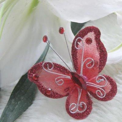 ... papillons par Un Jour Spécial : accessoires & décorations de mariage