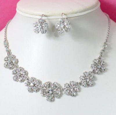 \u0026quot;Laura\u0026quot; Parure de bijoux mariage accessoires mariage