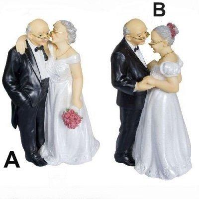 figurine noces d 39 or par un jour sp cial accessoires d corations de mariage. Black Bedroom Furniture Sets. Home Design Ideas