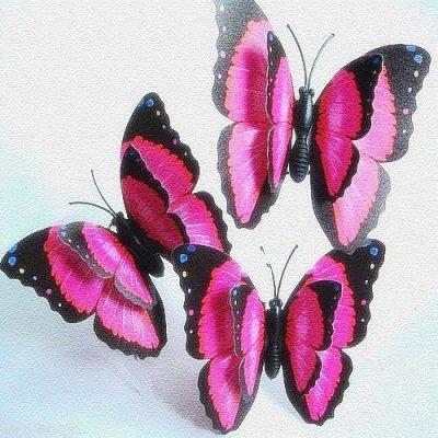 Deco mariage papillon bleu id es et d 39 inspiration sur le for Papillon decoration