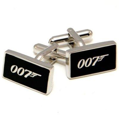 Boutons de Manchette \u0026quot;James Bond 007\u0026quot;