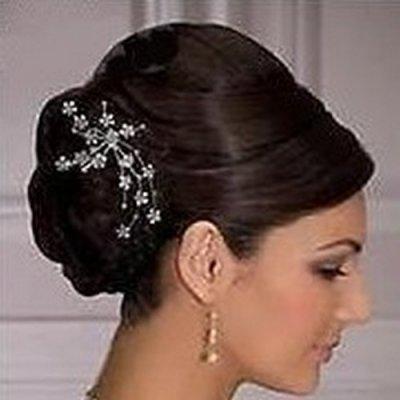 peigne mariage accessoire cheveux mari e par un jour sp cial accessoires d corations de mariage. Black Bedroom Furniture Sets. Home Design Ideas