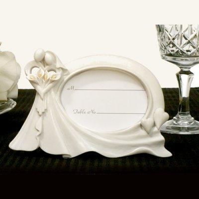 cadre photo porte nom mariage par un jour sp cial accessoires d corations de mariage. Black Bedroom Furniture Sets. Home Design Ideas