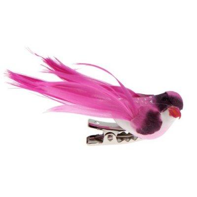 D co mariage oiseaux d coratif chocolat x 4 par un jour for Oiseaux artificiels de decoration