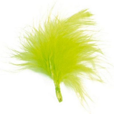 Plumes Vert Anis D�coration Mariage