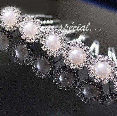 odilon parure bijoux mariage perle par un jour sp cial accessoires d corations de mariage. Black Bedroom Furniture Sets. Home Design Ideas