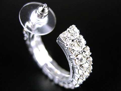 nouveau produit 40156 a7d3b Boucle d oreille anneau diamant - Idées de Tatouages et ...