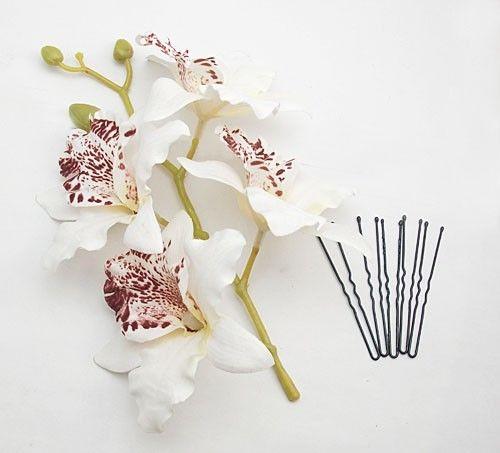 branche orchid e blanche chignon mariage pas cher un jour sp cial. Black Bedroom Furniture Sets. Home Design Ideas