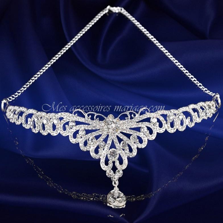 diadme mariage bijoux de tte bijoux de front - Diademe Mariage Oriental