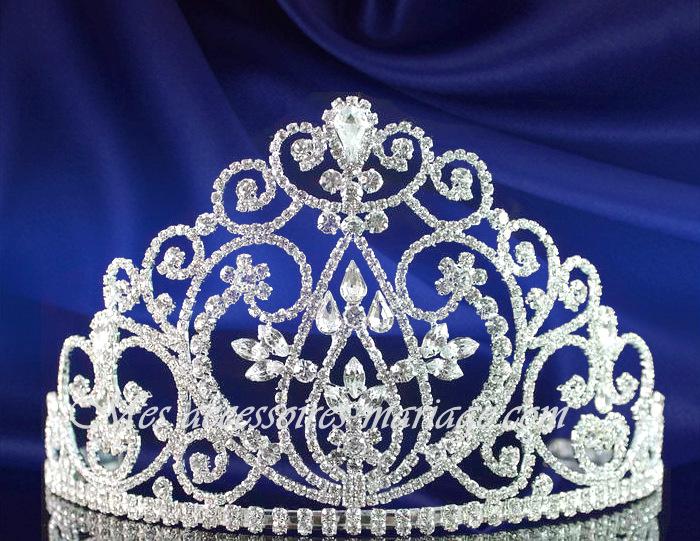 diadme mariage bijoux argent couronne de miss - Diademe Mariage Oriental