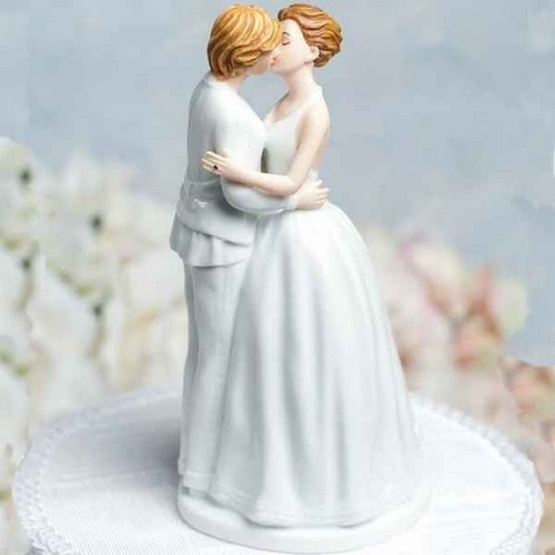 ARCHIVES  - Figurine Mariage Femme Gay lesbiennes : illustration