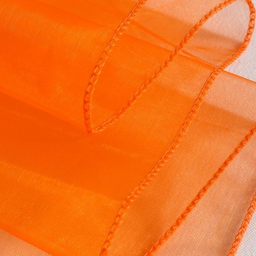 Chemin de Table Mariage Organza Orange (Lot de 5) par Un Jour Spécial ... - Photo 1