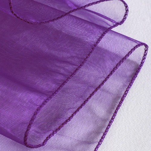 Chemin de Table Organza Violet (Lot de 5) par Un Jour Spécial ... - Photo 2