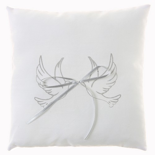 Coussin Porte Alliance Colombe Accessoires Mariage