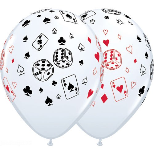 Ballon Casino (lot de 5)
