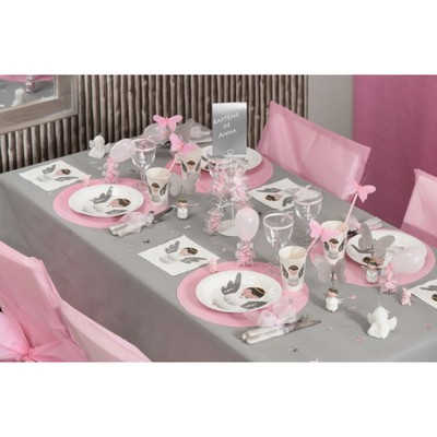 serviette de table ange papier blanc pas cher d co mariage un jour sp cial. Black Bedroom Furniture Sets. Home Design Ideas