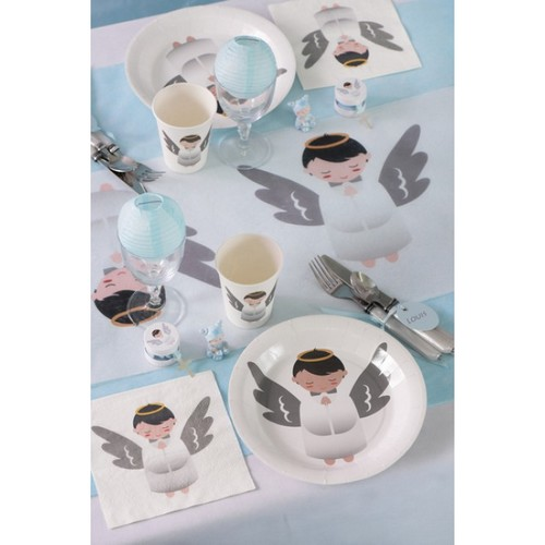Achetez ce lot de 20 Serviette de table jetable motif ... - Photo 2