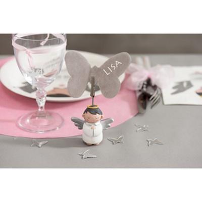 D coration de table marque place ange porte noms un for Decoration porte nom table