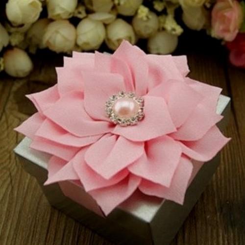 Boites Dragees Mariage Pas Cher Fleur Et Perle Rose Un Jour Special