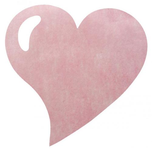 Sets de table jetable mariage coeur rose set de table pas cher un jour sp cial - Set de table jetable pas cher ...