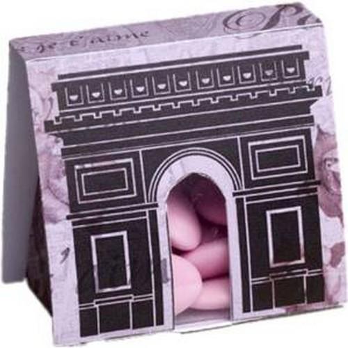 boite drag es paris arc de triomphe lot de 10 un jour. Black Bedroom Furniture Sets. Home Design Ideas