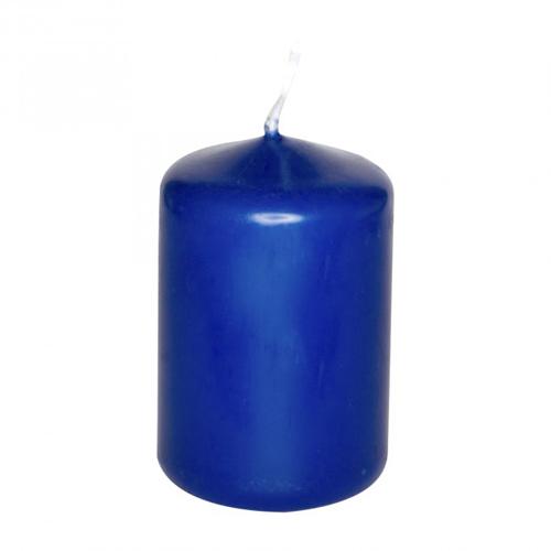 d co mariage bougie d corative cylindrique bleu marine. Black Bedroom Furniture Sets. Home Design Ideas
