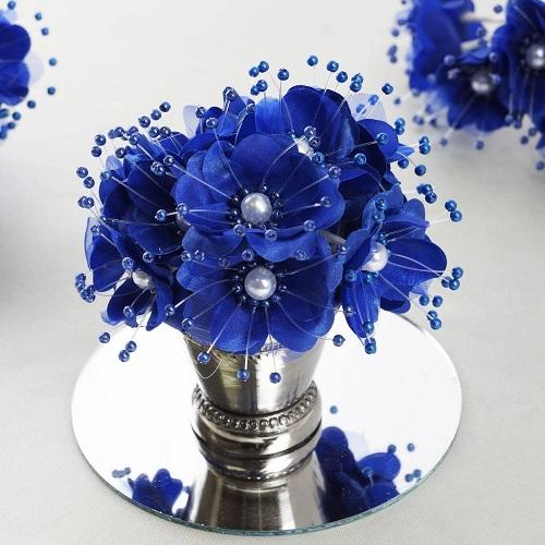 fleur en tissu d coration table mariage decoration florale pas cher. Black Bedroom Furniture Sets. Home Design Ideas