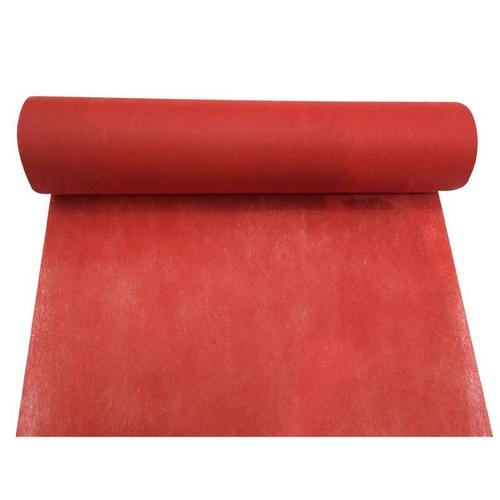 Chemin de table rouge intiss rouleau de chemin de table non tiss pour no l mariage - Chemin de table rouge mariage ...