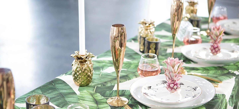 mariage thme exotique tropical - Deco Table Exotique