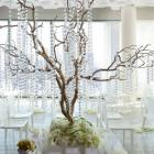 1 m de guirlande Diamants Transparent Déco Mariage