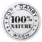 10 stickers transparents 100% nature