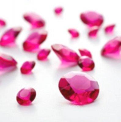 Diamants confettis roses fushia 10 mm pas cher d co de for Objet deco rose pale