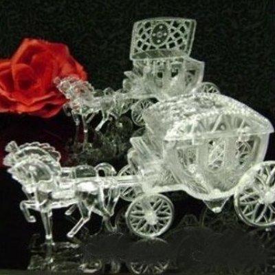 Bo te drag es chevaux carrosse cendrillon bapt me mariage de princesse - Carrosse de princesse ...