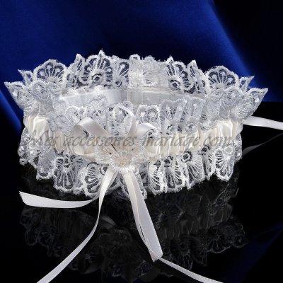jarretire mariage ivoire accessoires de mariage - Jarretiere Mariage