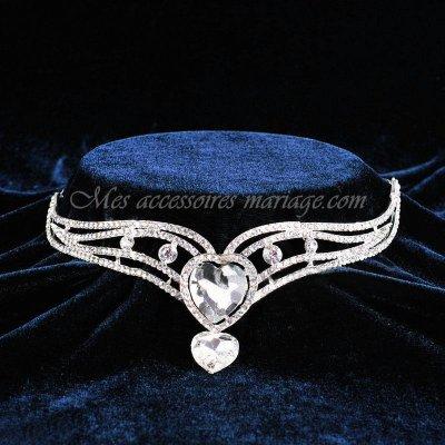 bijoux de front diadme mariage love accessoires de mariage - Diademe Mariage Oriental