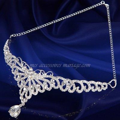 diadme mariage bijoux de tte bijoux de front srenade accessoires de mariage - Diademe Mariage Oriental