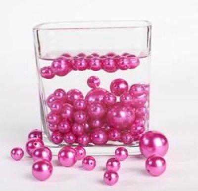 perles fushia d coration de table de mariage un jour sp cial