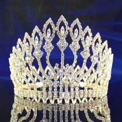 couronne de miss diadme de mariage altesse dor accessoires de mariage - Diademe Mariage Oriental