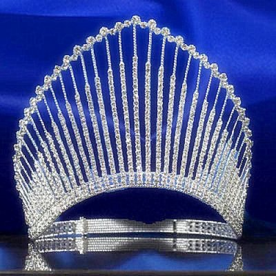 diadme mariage diademe couronne de miss kelly accessoires de mariage - Diademe Mariage Oriental