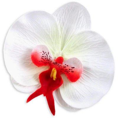 10 orchid es pas cher fleurs artificielles d co mariage un jour sp cial. Black Bedroom Furniture Sets. Home Design Ideas