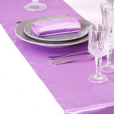 Chemin de table mariage pas cher en satin un jour sp cial - Chemin de table jetable pas cher ...