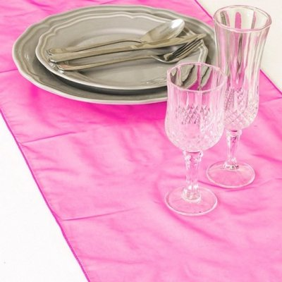 Décoration de Table Mariage  - Chemin de Table Mariage Organza Rose Franboise (Lot ... : illustration
