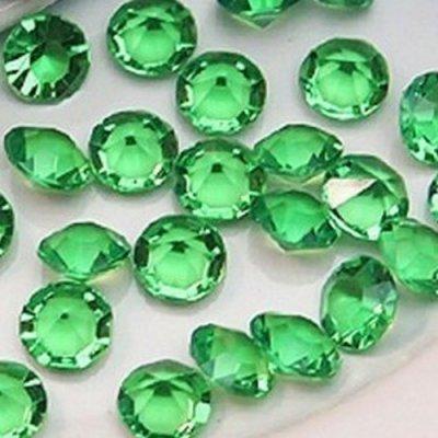 diamants de table vert 10 mm d co mariage x 500 un jour sp cial. Black Bedroom Furniture Sets. Home Design Ideas