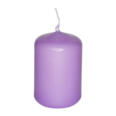 Bougie Cylindrique Lilas